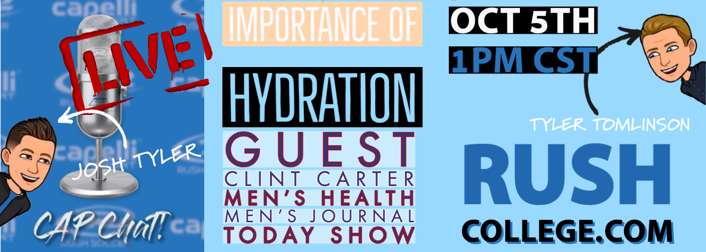 CAP Chat Live! Importance of Hydration