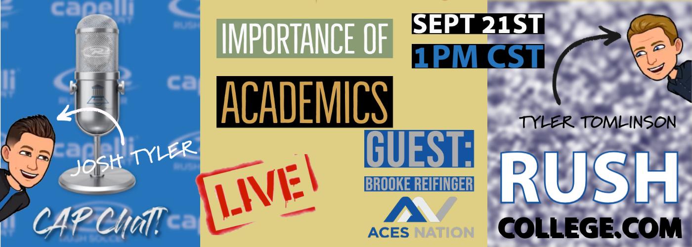 CAP Chat Live: Importance of Academics